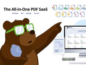 [StackSocial] PDFBEAR All in One PDF Software: Lifetime Subscription für 44€; incl. OCR Tool