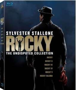 "Rocky ""The Undisputed Collection"" 6 Filme Blu Ray @Amazon UK Zoverstocks 19,59€"