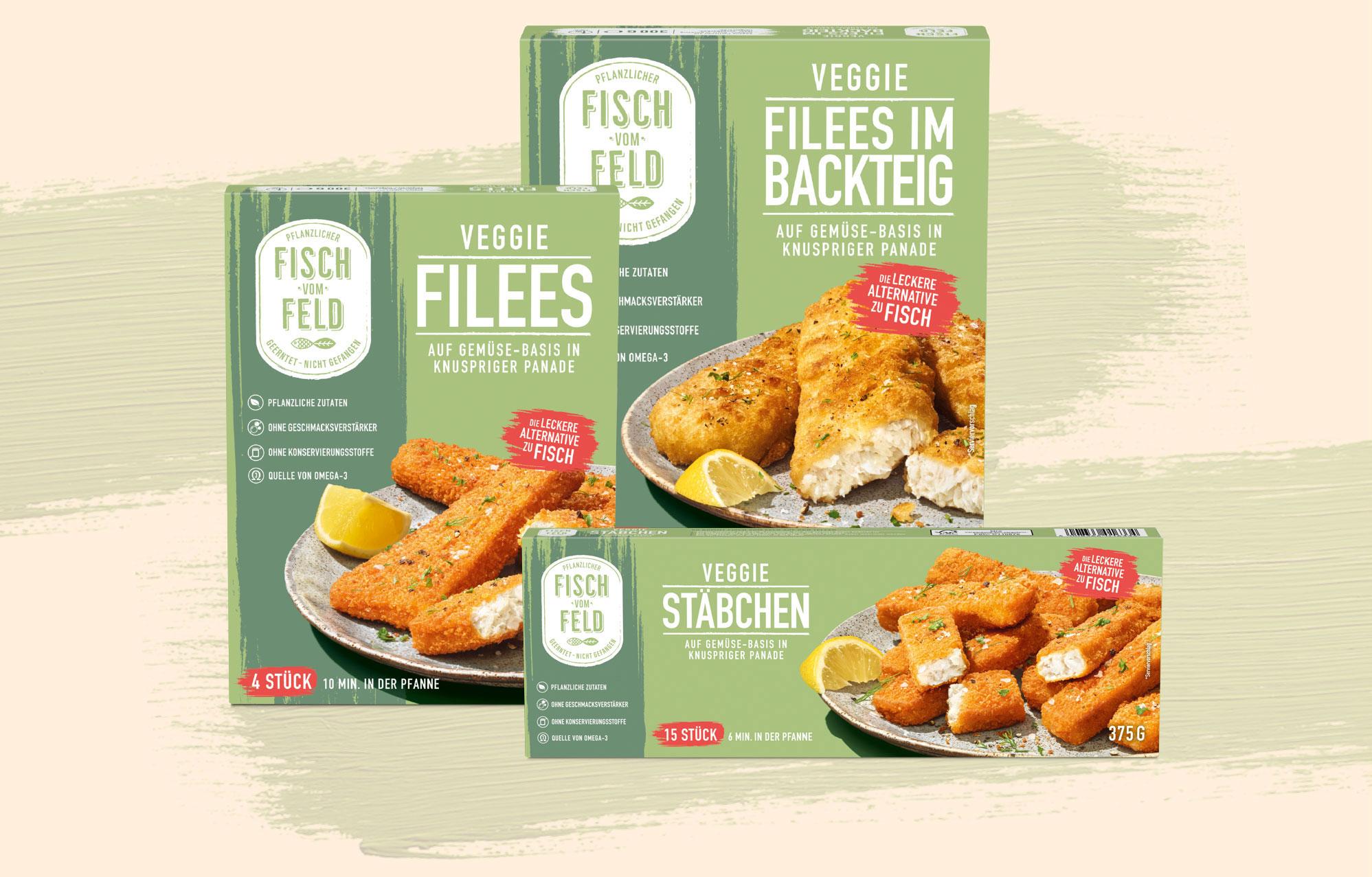 Frosta Fisch vom Feld kostenloser Versand im Januar