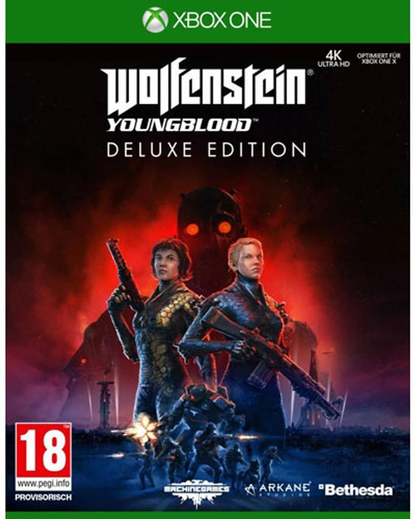Wolfenstein: Youngblood - Deluxe Edition (Xbox One) für 10,23€ inkl. Versand (Real.de)
