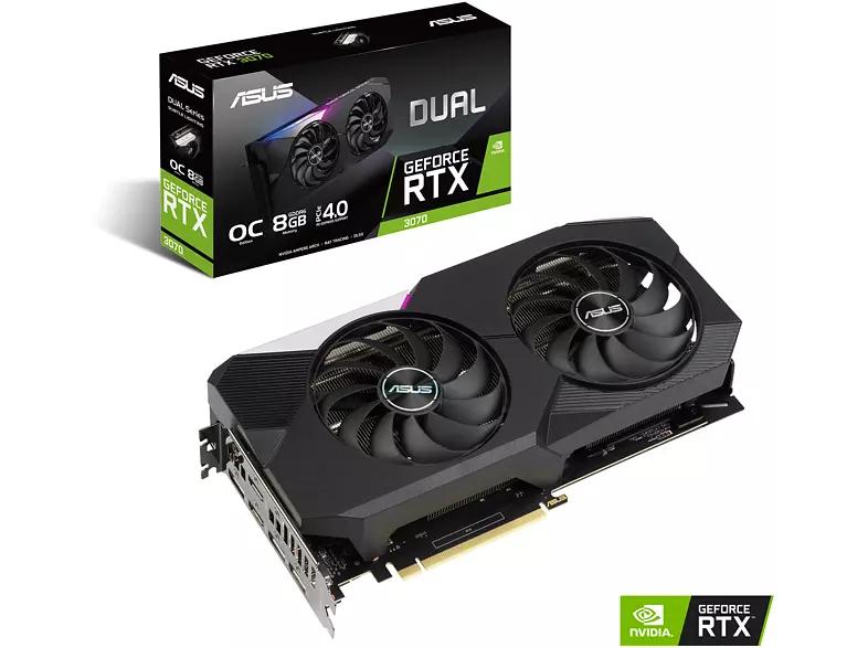 [Media Markt] ASUS GeForce RTX™ 3070 Dual OC 8GB (90YV0FQ0-M0NA00) für 599,31 €