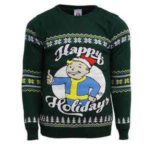 Fallout Official Happy Holidays Ugly Christmas Sweater in Zwergengröße (XS und S) für 10,94€ @ mygeekbox
