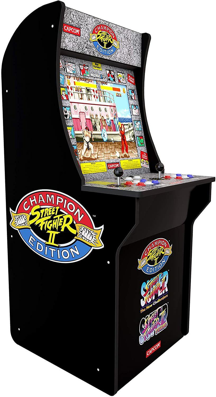 Arcade1Up Street Fighter II Champion Edition Retro Arcade Machine (Amazon.fr)