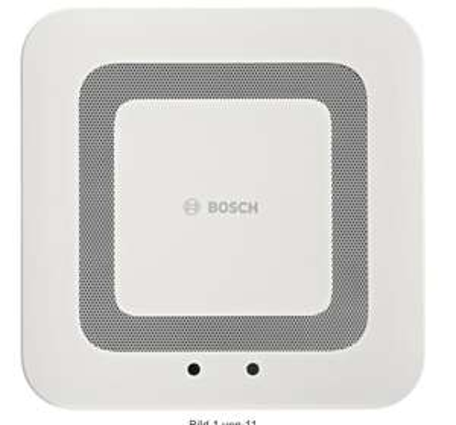 Smart Home Rauchmelder Bosch Twinguard mit Luftgütesensor / Dank Hornbach TPG