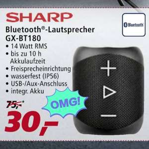 (nur Filialen Real) Sharp GX-BT180 -