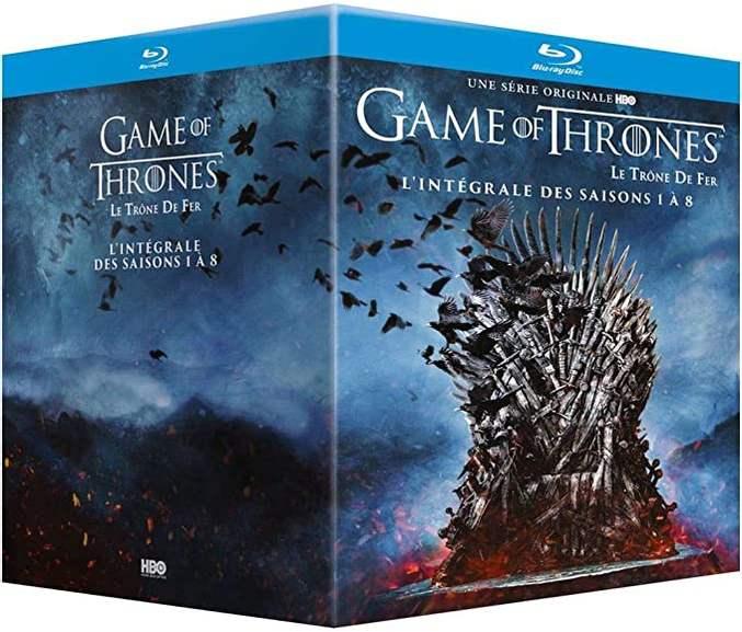 Game of Thrones - Die komplette Serie Blu-ray (32 Discs) mit deutscher Tonspur für 64,80€ inkl. Versandkosten / mit Code PROMO5 ggf. 59,80€