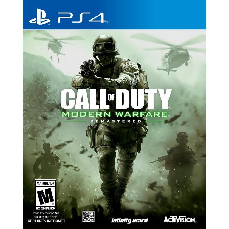 Call of Duty Modern Warfare Remastered (PS4 / US Code) für 8,49€ (Cdkeys)