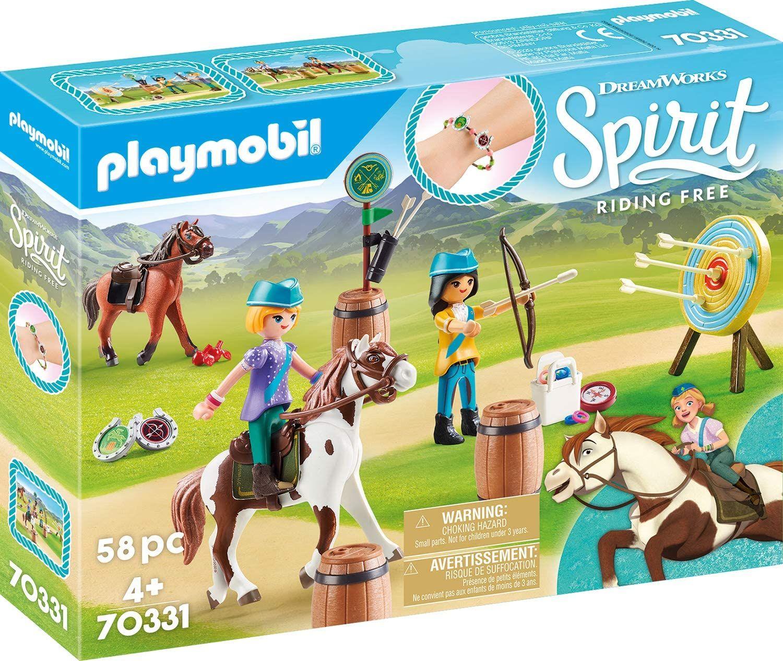 [Amazon Prime] Playmobil 70331 DreamWorks Spirit Abenteuer im Freien mit Abigail und Boomerang, Ab 4 Jahren / Oder 70120 für 10,74 €