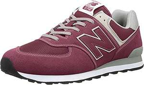 New Balance 574 Herren Sneakers in weinrot (44-49) für 45 Euro