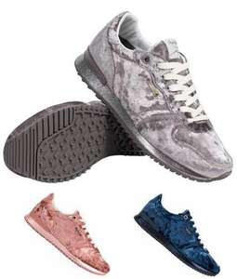 "Pepe Jeans Damen Sneaker ""Gable Velvet Low Top"" für 18,99€ + 3,95€ VSK (Größe 36 - 41, 3 Farben verfügbar) [SportSpar]"