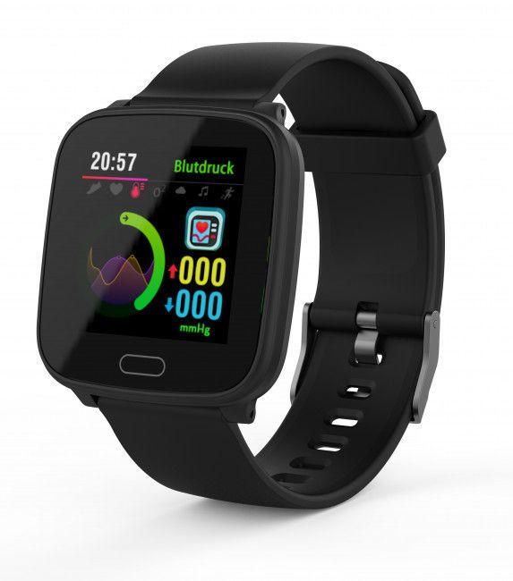 SWISSTONE SW 610 HR, Smartwatch, 215 mm, Schwarz [Saturn & Mediamarkt Abholung]
