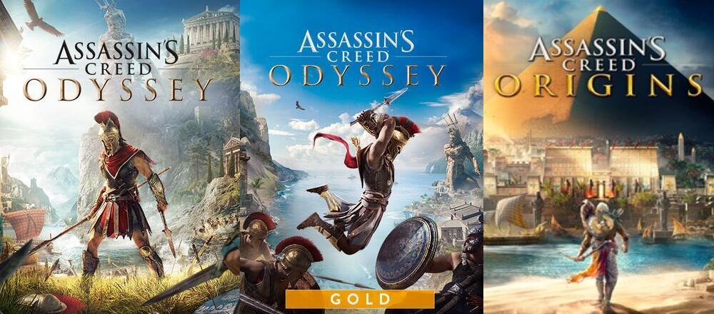 [Xbox One & Series X|S] Assassin's Creed Odyssey für 7,80€ - Odyssey Gold für 10,80€ & Origins für 6,30€ (Microsoft Store BR)