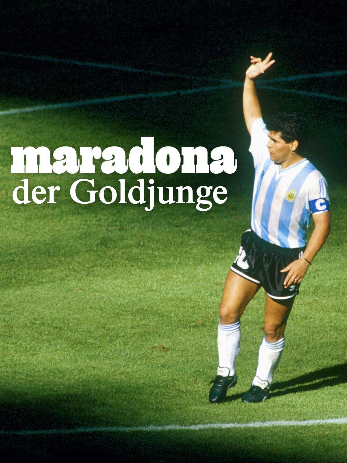 Maradona, der Goldjunge   kostenlos im Stream [ARTE]