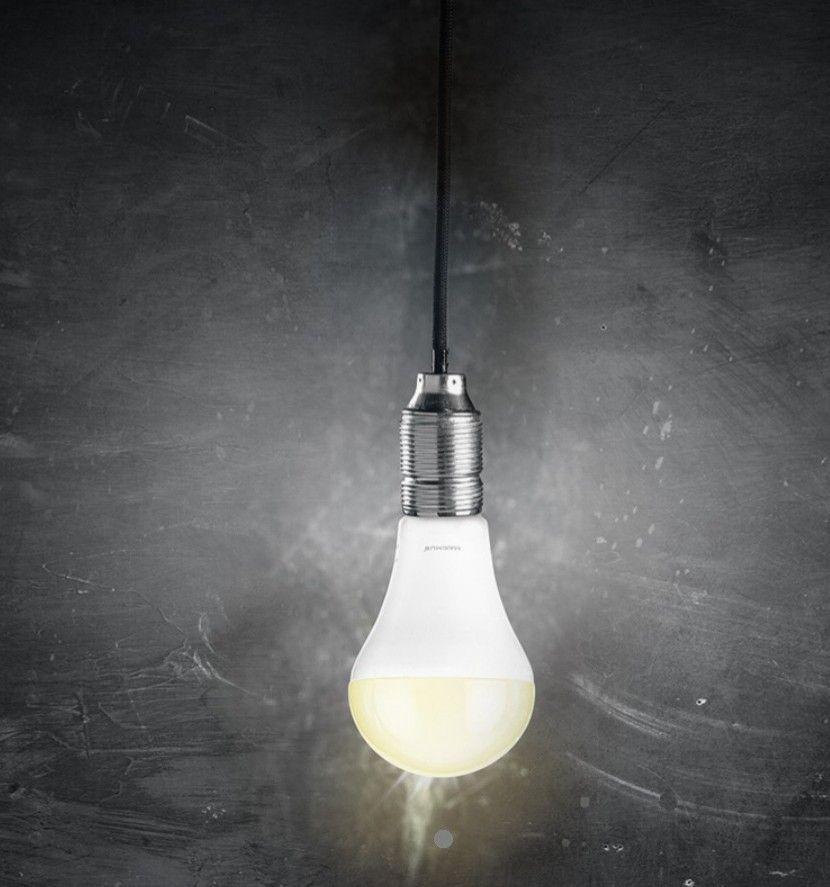 LED Glühlampe mit Erleuchtung