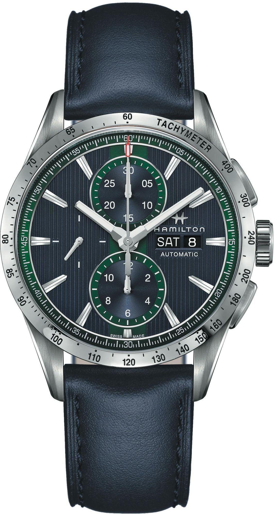 Hamilton Broadway Day-Date Automatikuhr Chronograph - Kal. H21 (präzises Valjoux 7750) - 43mm - Swiss Made