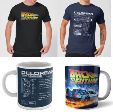 Zurück in die Zukunft Bundle (T-Shirt + Tasse)