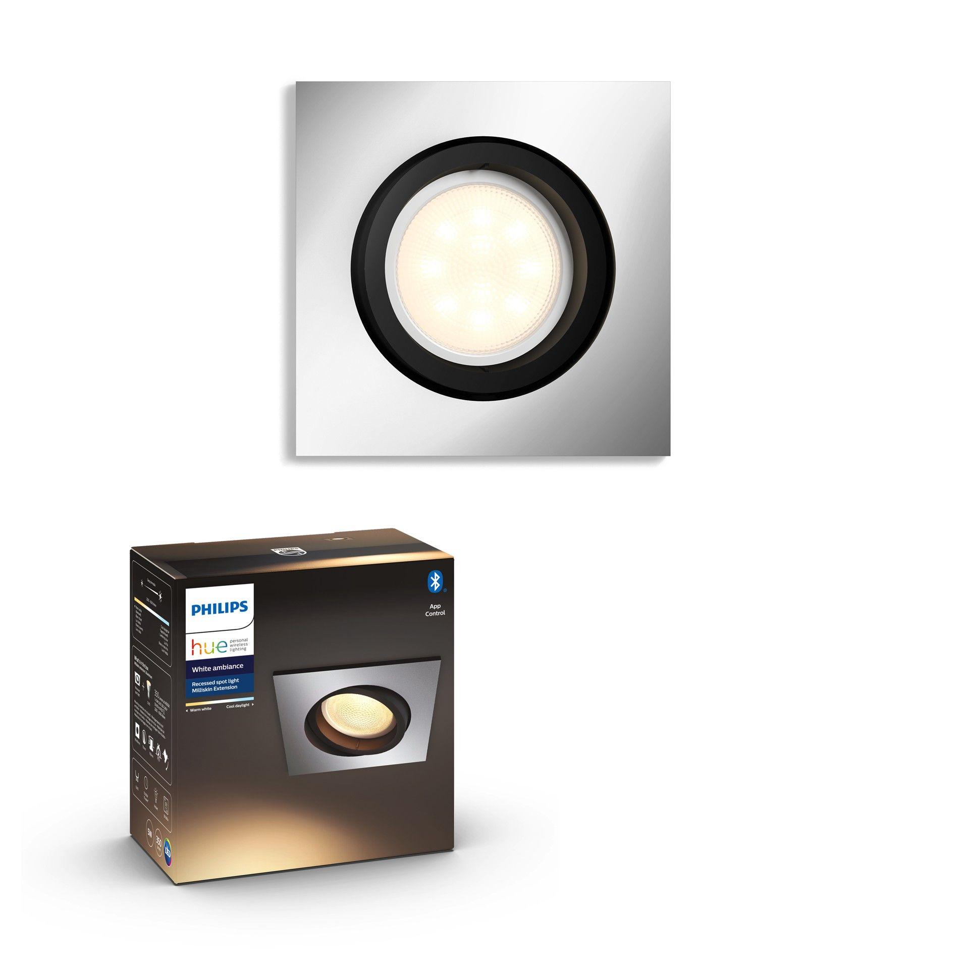 Philips Hue White Ambiance Einbauspot Milliskin Bluetooth