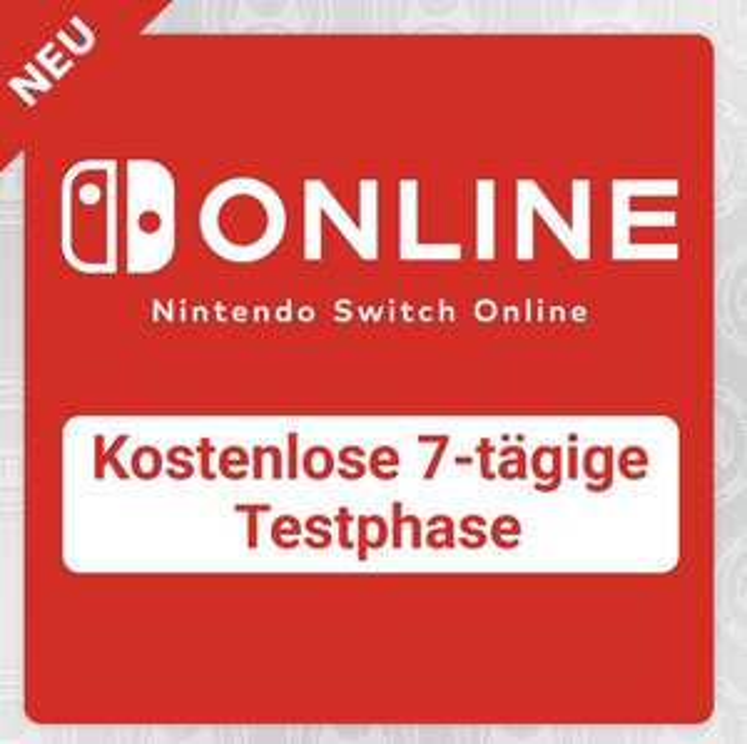 Nintendo Switch Online 7 Tage kostenlos