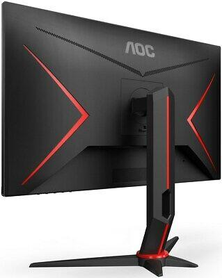 AOC Gaming 24G2U/BK 60 cm (23,8 Zoll) IPS Monitor (FHD, HDMI, DisplayPort, Free-Sync, 1ms Reaktionszeit, 144 Hz, 1920x1080)