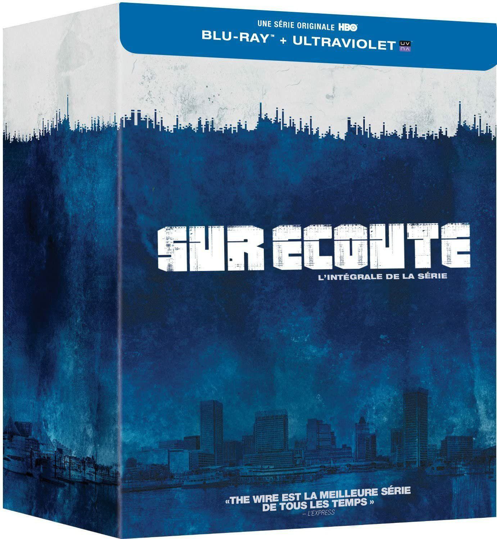 The Wire - Die komplette Serie: Staffel 1-5 (Blu-ray) für 37.12€ (Fnac)