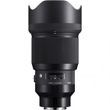 Sigma 85mm F1.4 DG HSM Art Objektiv für Sony E-Mount