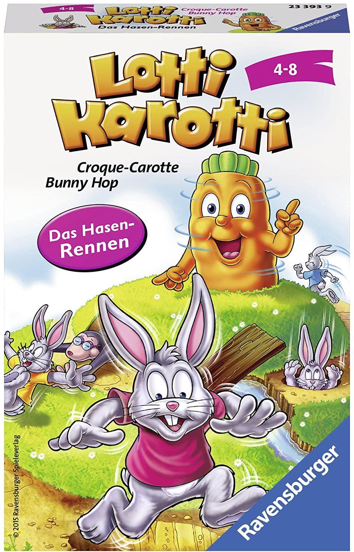 [Amazon Prime] Ravensburger Mitbringspiele 23393 - Lotti Karotti, ab 4 Jahren (kleine Variante)