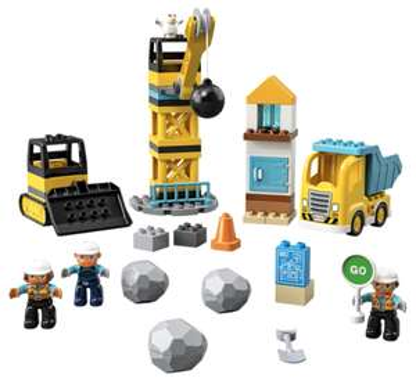 LEGO DUPLO - 10932 Baustelle mit Abrissbirne (inkl. Versand) / [oder bei Müller 39,99€ NUR Abholung]
