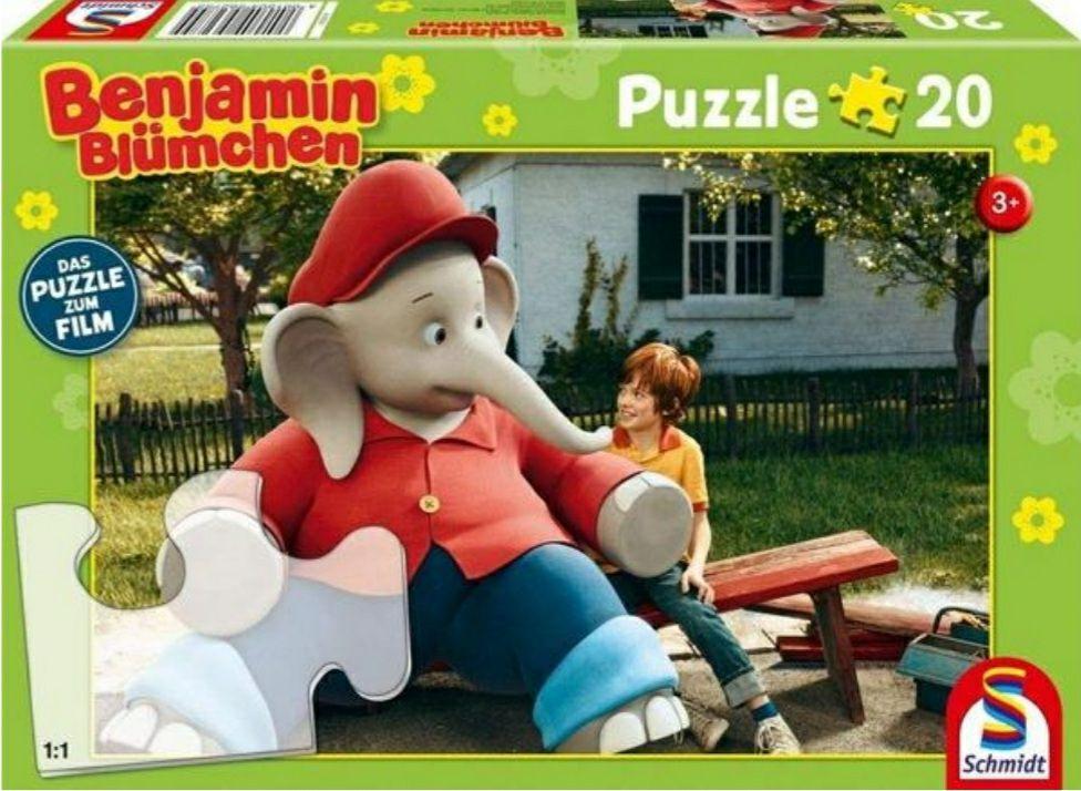 Schmidt 56275 - Benjamin Blümchen, Ferien im Zoo, Puzzle