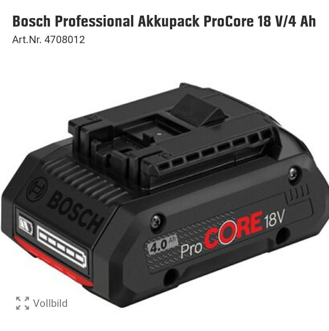 Bosch ProCore 18V 4.0Ah (1 600 A01 6GB) (Baushaus TPG)