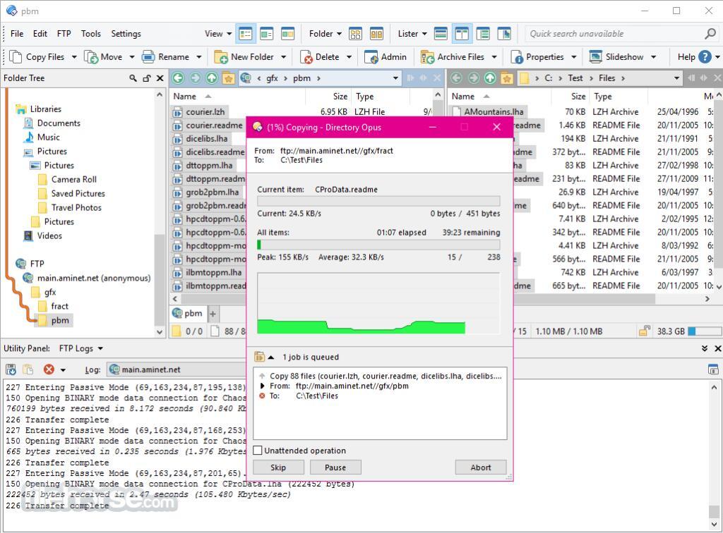 40% Rabatt auf Directory Opus (File Manager für Windows)