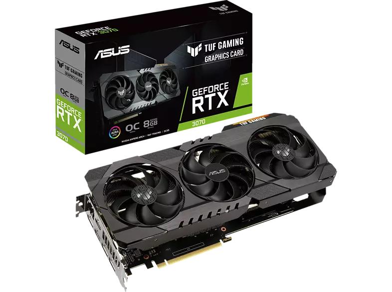 ASUS GeForce RTX™ 3070 TUF Gaming OC 8GB