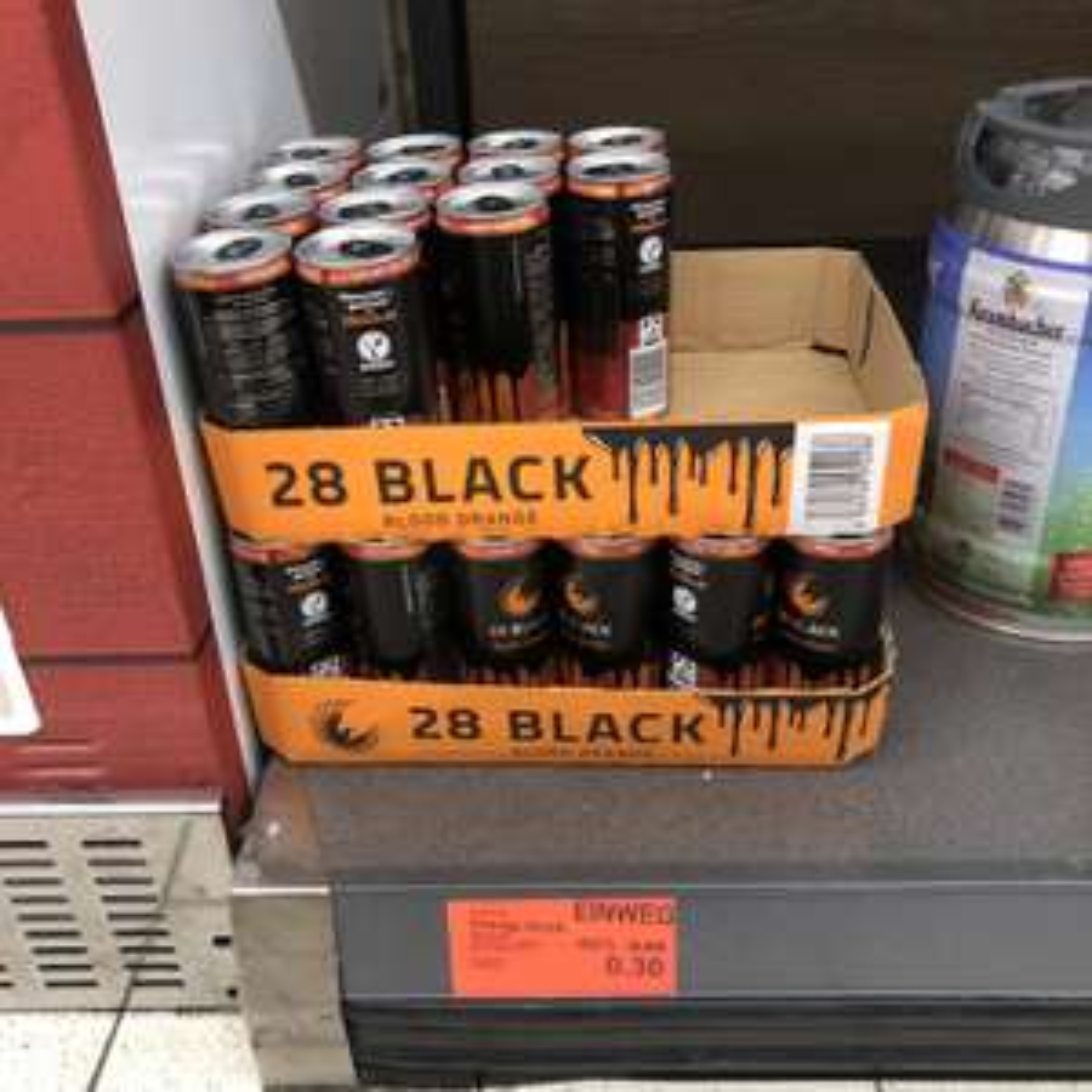 Energydrink 28 Black Blood Orange Lokal? (Mettmann)