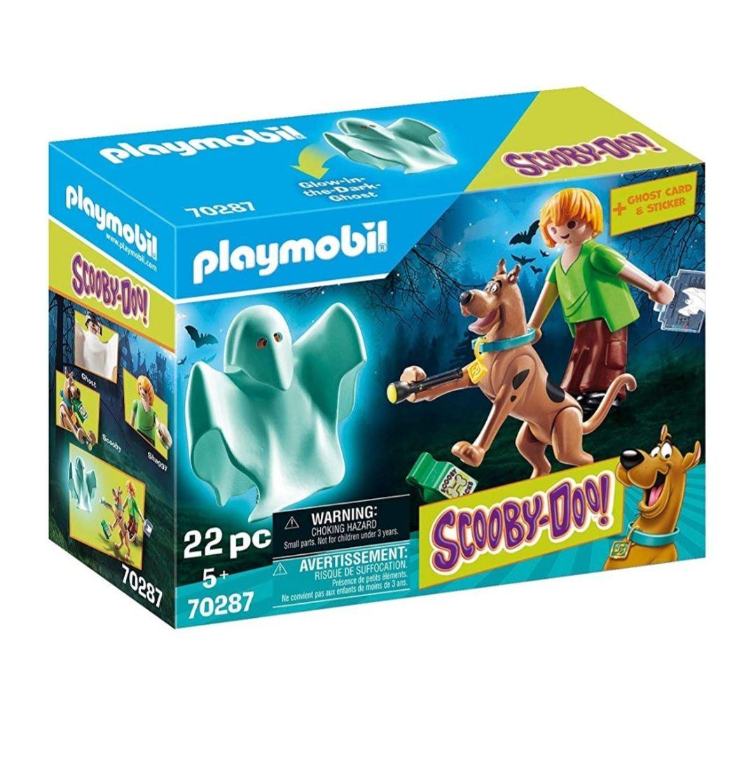 Amazon Prime PLAYMOBIL SCOOBY-DOO! 70287 Scooby und Shaggy mit Geist, Ab 5 Jahren