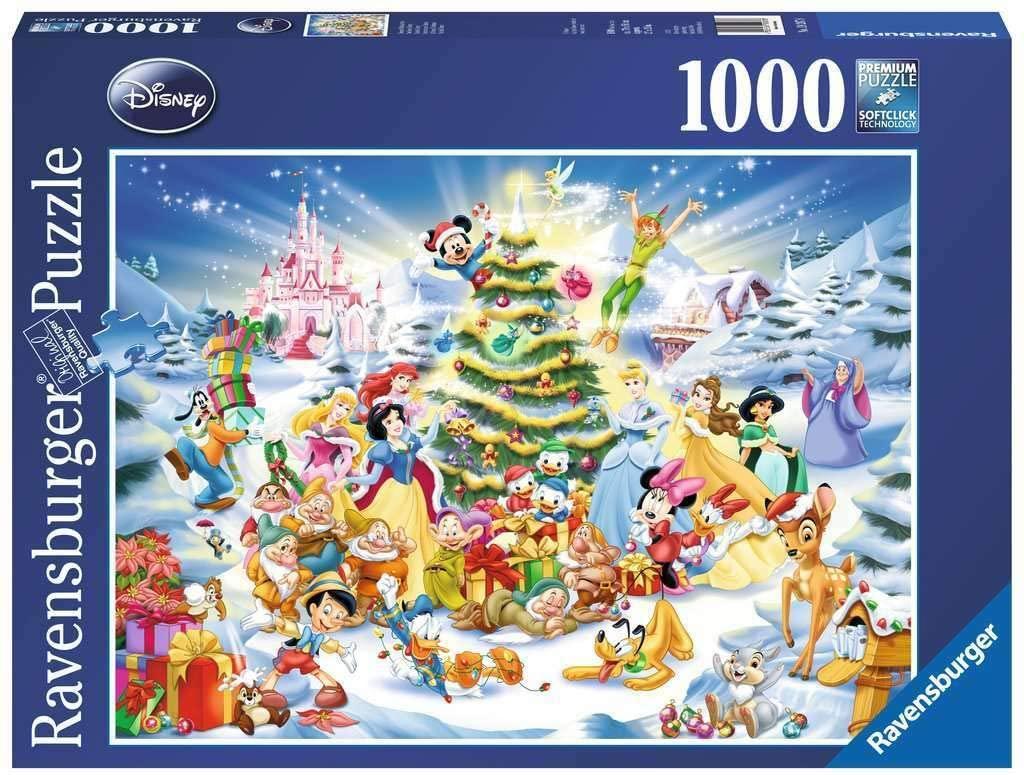 Ravensburger Disney - Disney's Weihnachten Puzzle mit 1.000 Teilen für 8,89€ (Amazon Prime)