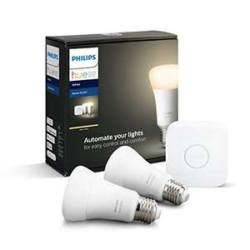 Amazon.it Philips Hue White Starter Set E27 für 52,06€