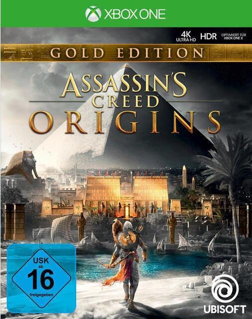 Assassin's Creed: Origins Gold Edition (Xbox One) für 14,84€ inkl. Versand (Ubisoft)
