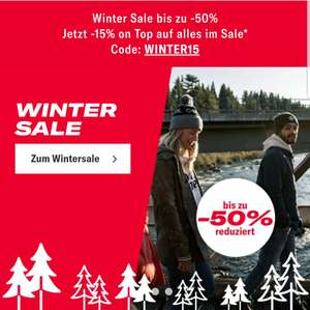 Planet Sports Winter Sale im Outlet + 15% z.B. Chrissy Strappy - Kleid Damen für 37,85€