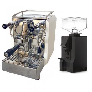 Siebträger Espressomaschine ACM Homey (E61) mit Eureka Espressomühle im Bundle