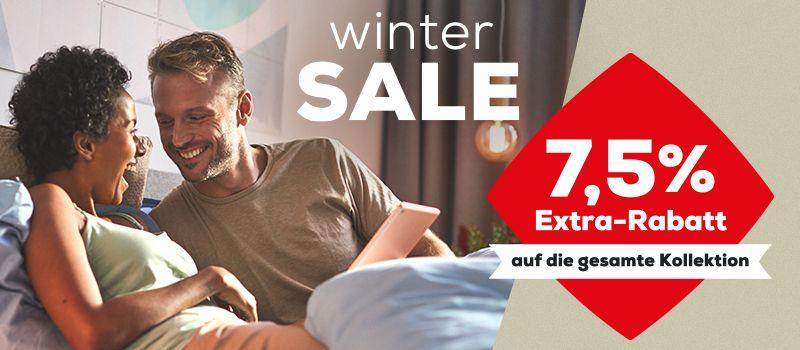 Swisssense WinterSale 7,5% auf gesamte Kollektion z.B. Boxspringbett für 1008,25€