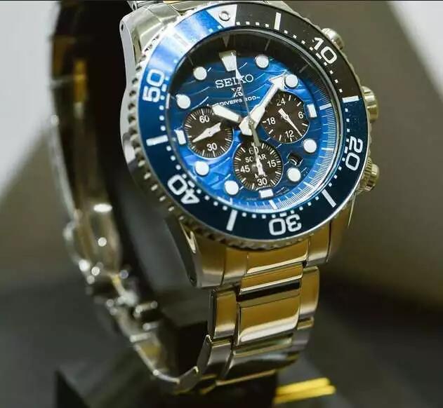 "[olfert&co] Seiko Prospex Diver's Chronograph ""Save the Ocean"" SSC741P1"