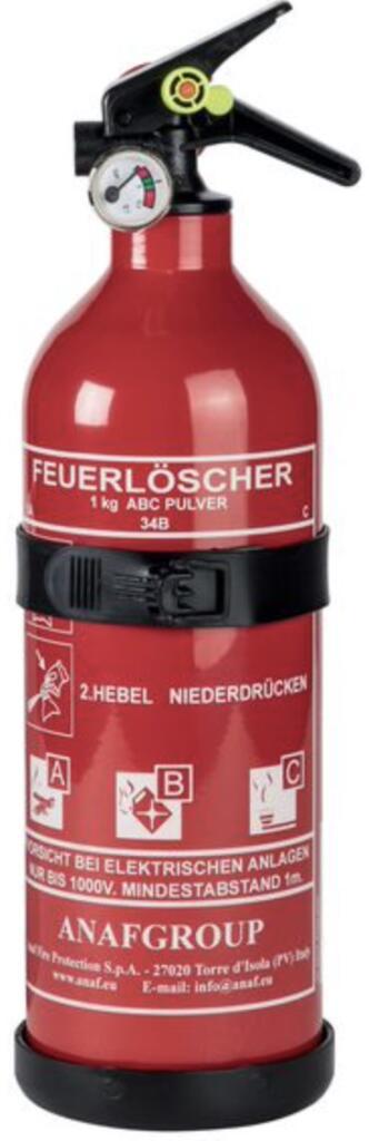 Feuerlöscher 1KG ABC-Pulver für 7,99€ | Reservekanister 20L für 4,99€ o. 10L 3,99€ [Kaufland]