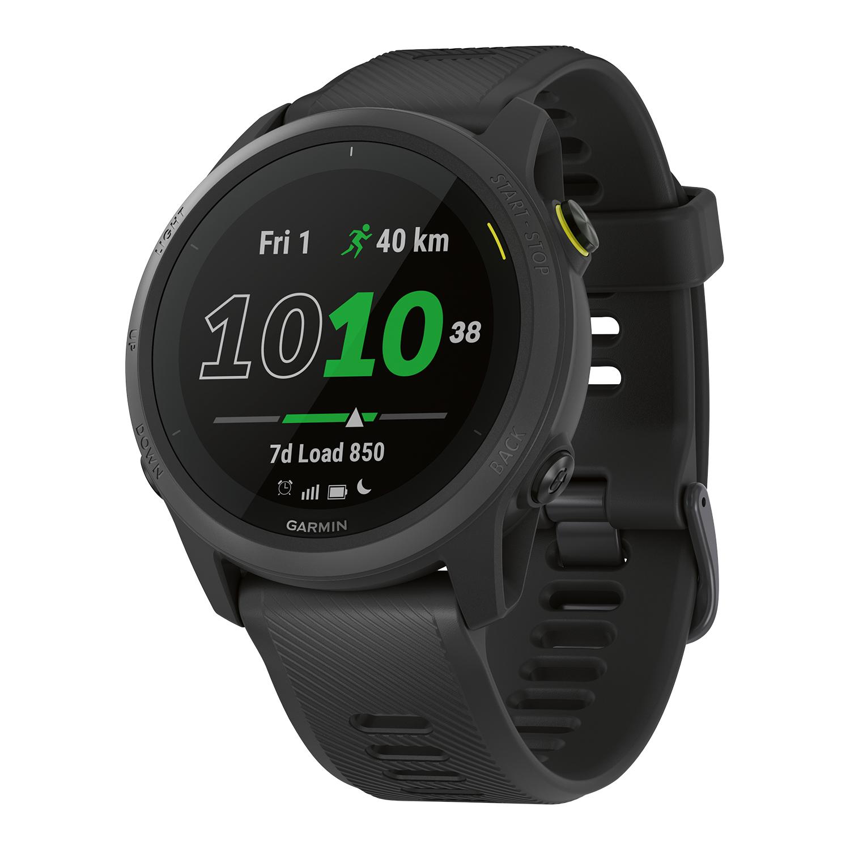 garmin forerunner® 745 triathlon smartwatch, in schwarz oder weiß