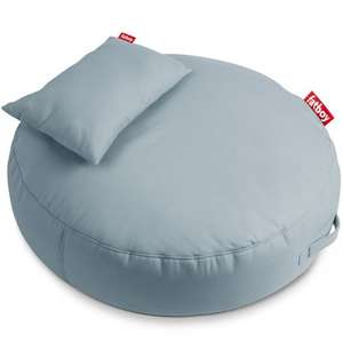 Fatboy Pupillow Outdoor-Sitzsack Mineral Blue (120x30cm, wasser- & schmutzabweisend, Polyacryl, EPS-Perlen & Schaumflocken, 30°C waschbar)