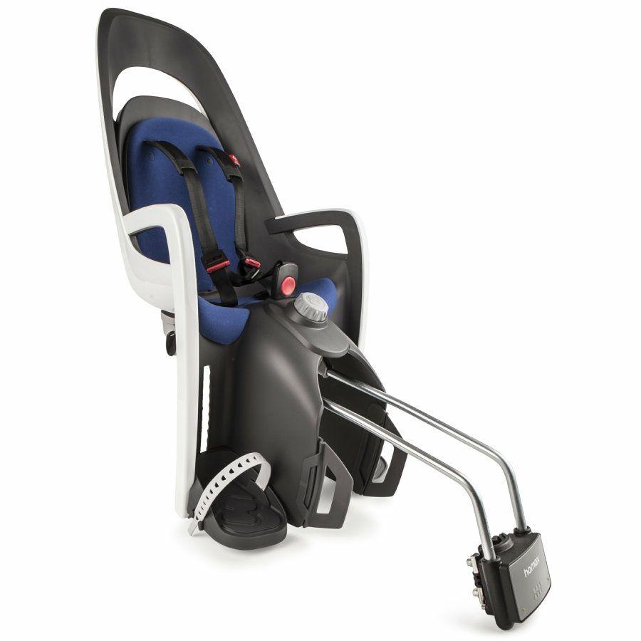 """[Babymarkt] Fahrradkindersitz """"Hamax Caress"""" in blau/weiß oder rot/weiß für 79,99€"""