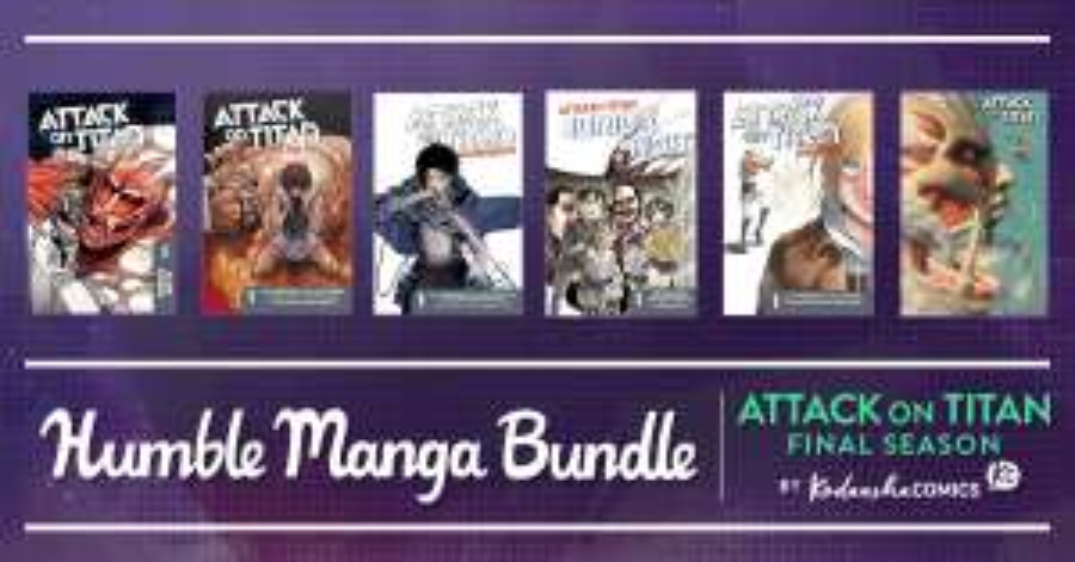 Humble Books: Attack on Titan, Manga