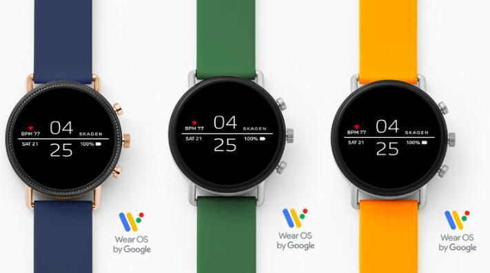 Sale bei Skagen mit bis zu 50% Rabatt, z.B. Smartwatch Falster 2 - mit Silikonarmband in 3 Farben