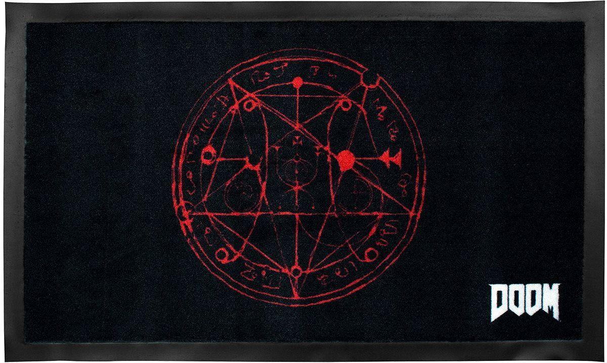 DOOM Pentagram - Fußmatte