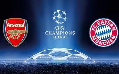 Arsenal-Bayern im kostenlosen Live-Stream!