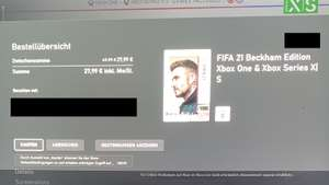 Xbox Fifa 21 mit EA-Play Ingame-Treue-Angebot inkl. 500 Fifa Points