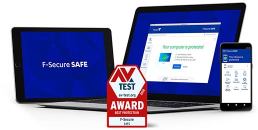 F‑Secure SAFE 6 Monate gratis!